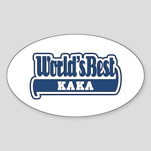WB Dad [Turkmen] Oval Sticker